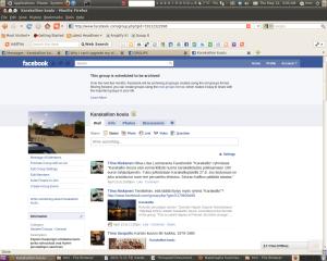 """Old Facebook group """"Karakallion koulu"""""""