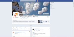 2012-3-6 Facebook, Metropolia Career Services, Timeline logged in
